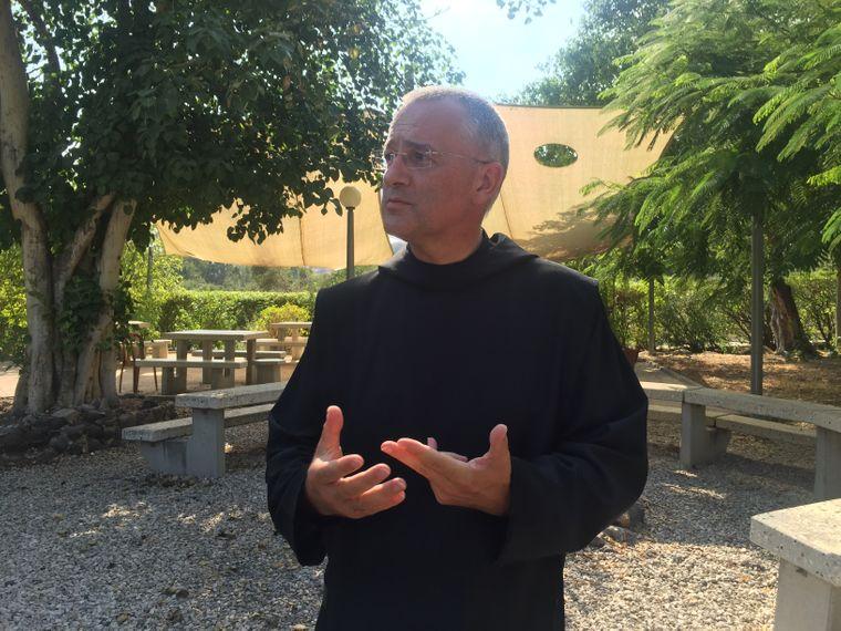 Pater Matthias Karl aus Bayern wirkt seit acht Jahren am See Genezareth.