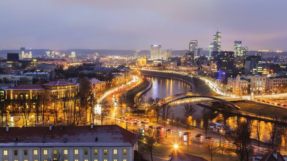 Skyline von Vilnius