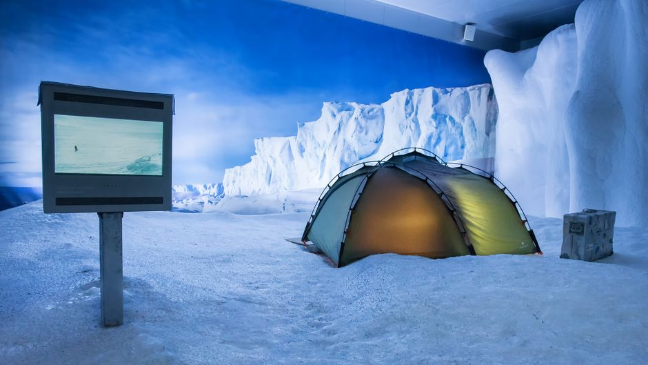 Antarktis im Klimahaus.