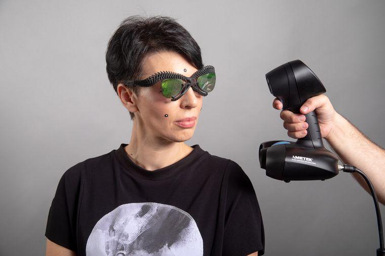 Modernes Modedesign: Anuk Yosebashvili lässt von den Kunden ihres Modelabels Vague in Tel Aviv 3-D-Scans anfertigen anstatt sie zu vermessen.