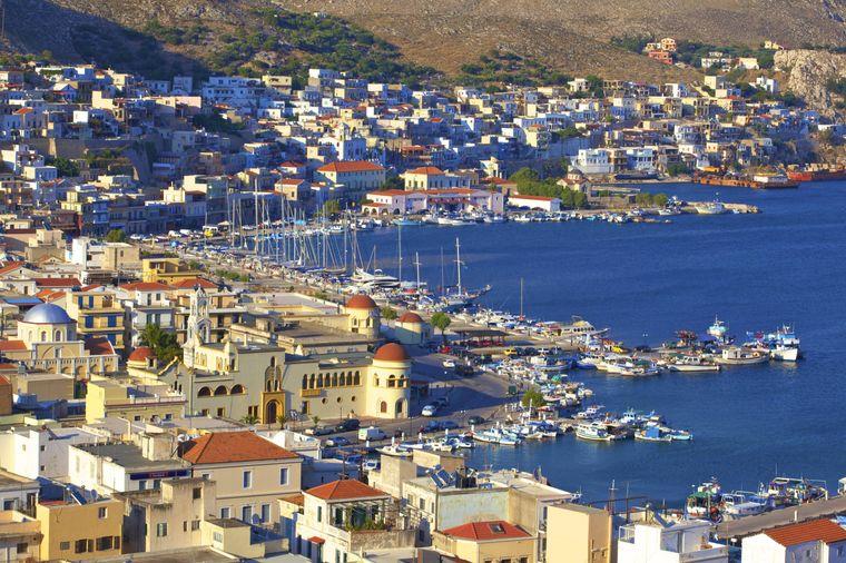 Die Insel Kalymnos ist die viertgrößte Insel der Dodekanes.