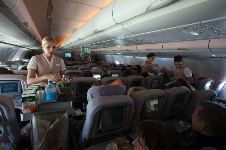 7 Prozent aller Fluggäste gaben an, schon einmal unfreundlichen Service auf ihrem Flug erlebt zu haben.