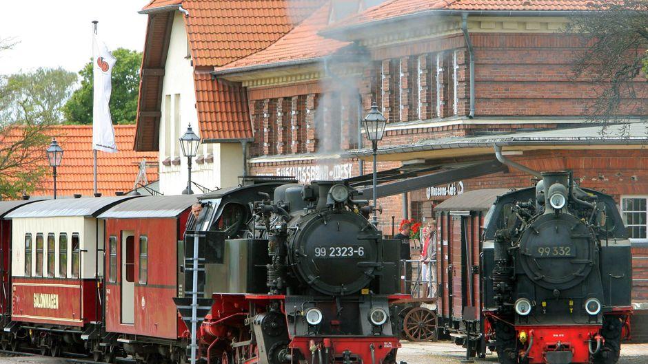 Im Molli-Museum in Kühlungsborn dreht sich alles um regionale Eisenbahngeschichte.