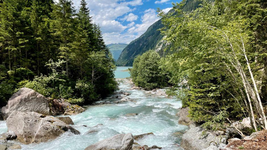 Der erste Teil des Wasserfallwegs soll 5,4 Kilometer lang sein.