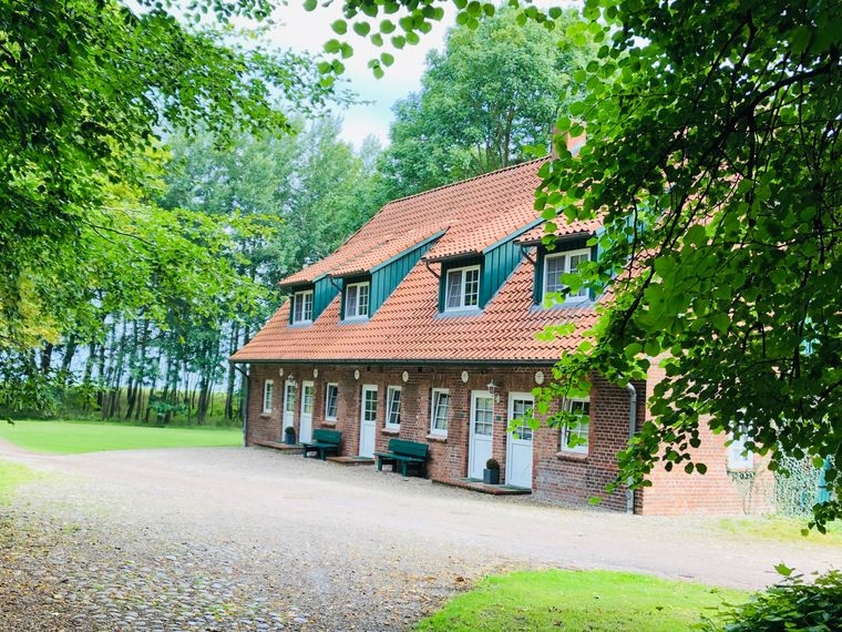 Auf Gut Oehe wurden die Nebengebäude zu Ferienwohnungen ausgebaut.