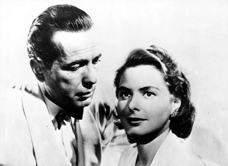 """Humphrey Bogart und Ingrid Bergmann in """"Casablanca""""."""