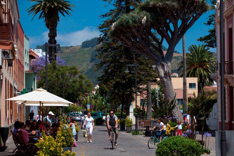 Die jüngste Stadt auf Teneriffa ist die Universitätsstadt La Laguna.