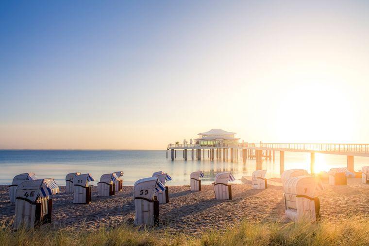 Eines der beliebtesten Reiseziele Deutschlands: der Timmendorfer Strand