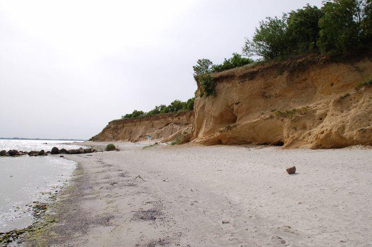 Strand auf Fehmarn.