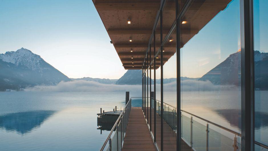 Ausblick auf den Achensee.