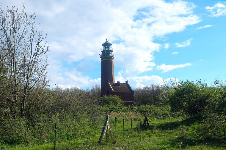Leuchtturm auf der Greifswalder Oie.