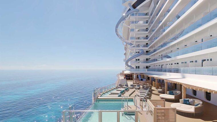 Die Rutsche der Norwegian Prima, Norwegian Cruise Line