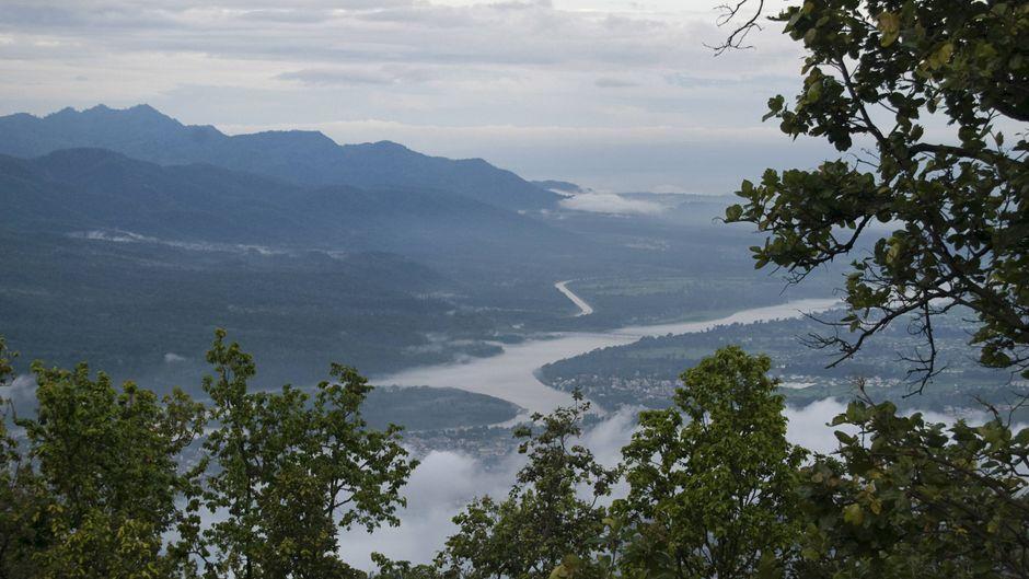 Rishikesh am Ganges.