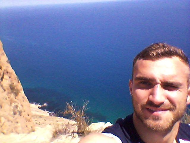 Ein Selfie mit Blick aufs Meer!