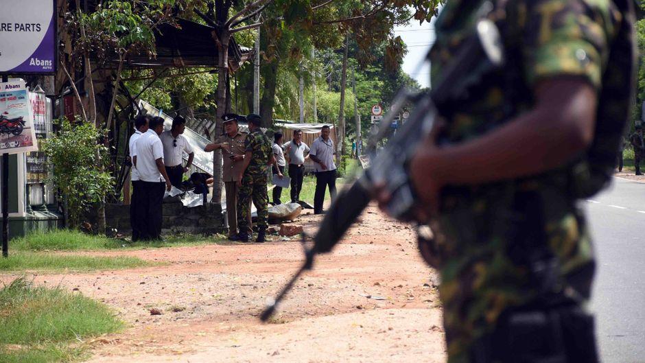 Die Präsenz der Sicherheitskräfte wurde landesweit verstärkt.