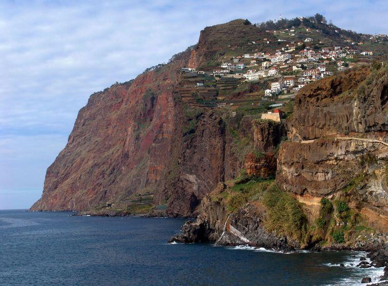 Die Felsklippe Cabo Girao auf Madeira ist die höchste in ganz Europa.