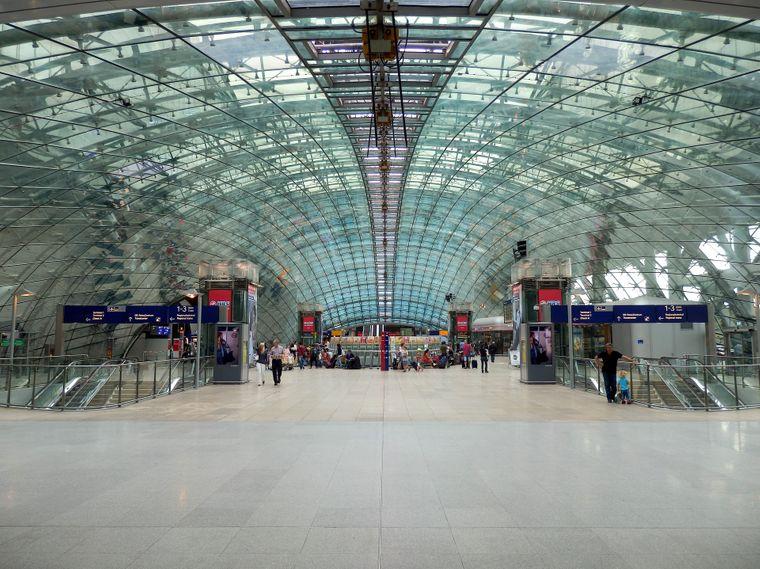 Der Flughafen Frankfurt am Main.