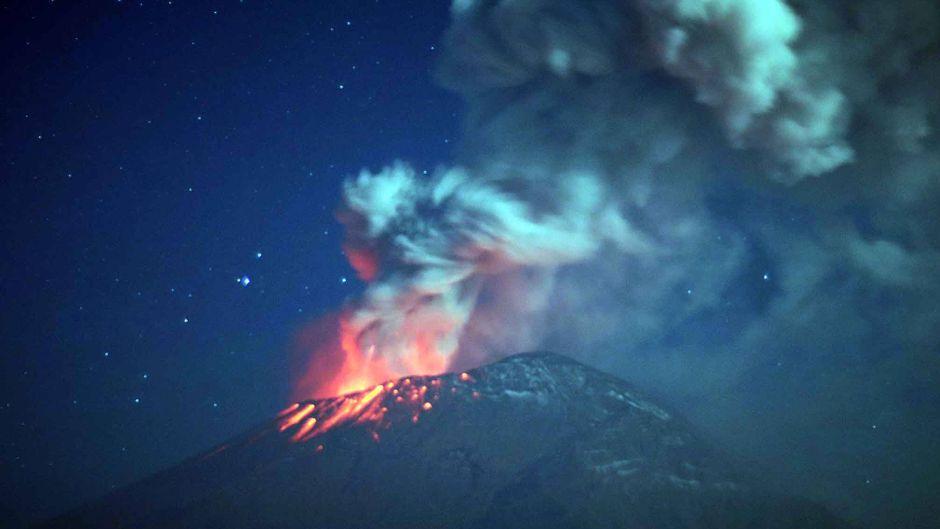 Der Popocatepétl bricht immer wieder aus – doch die aktuelle Eruption war eine der heftigsten der vergangenen Monate. (Symbolfoto)
