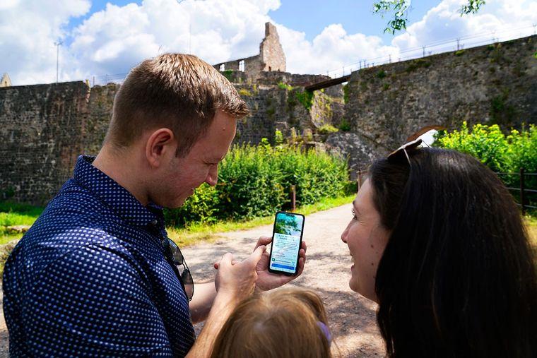 Abfahren erlaubt! Mithilfe der App lassen sich Pausen an sehenswerten Orten einplanen.