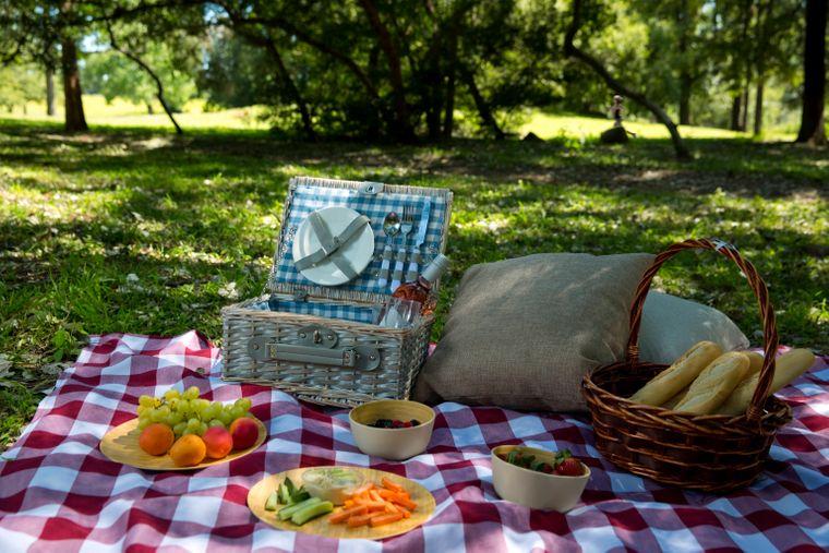 Ein Picknick ist eine leckere Flucht aus dem Alltag. (Symbolbild)