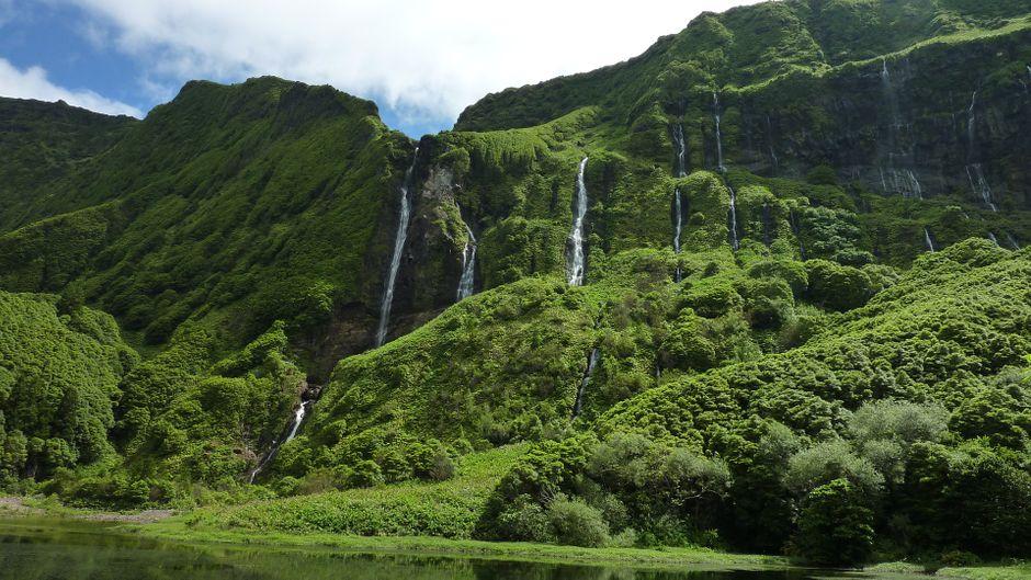 Die Azoren sind ein grünes Juwel am Golfstrom vor der Küste Portugals