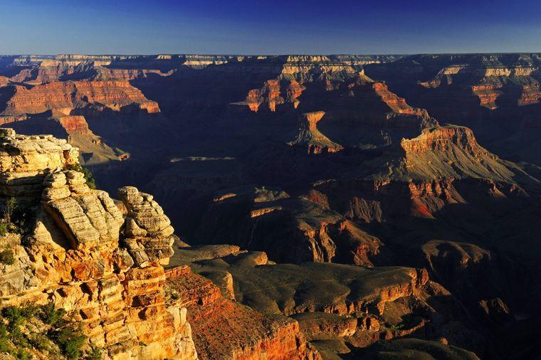 South Rim im Grand-Canyon-Nationalpark.