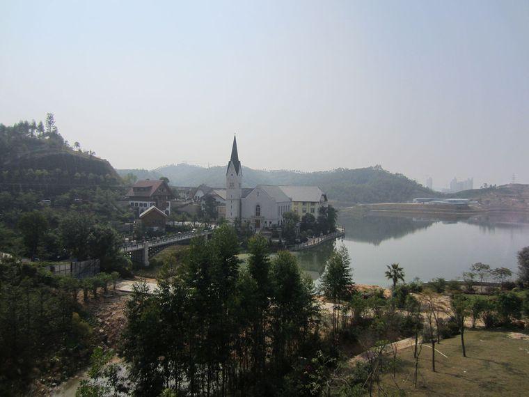 Alpenidylle in China.