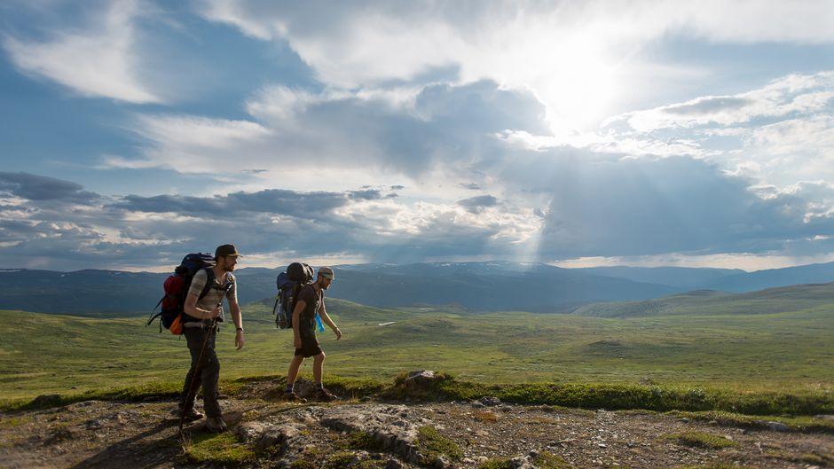 Auf dem Dovrefjell haben Pilger einen besonders weiten Blick.