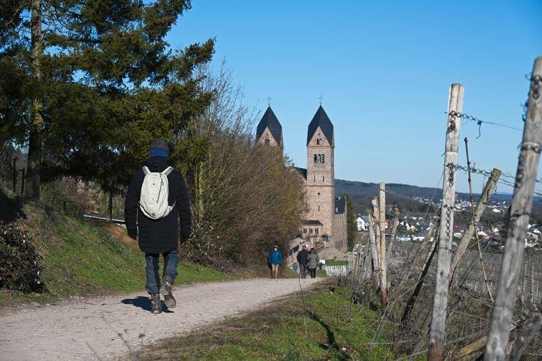 Das Kloster Beuron ist Start und Ziel dieses schönen Rundwanderweges.