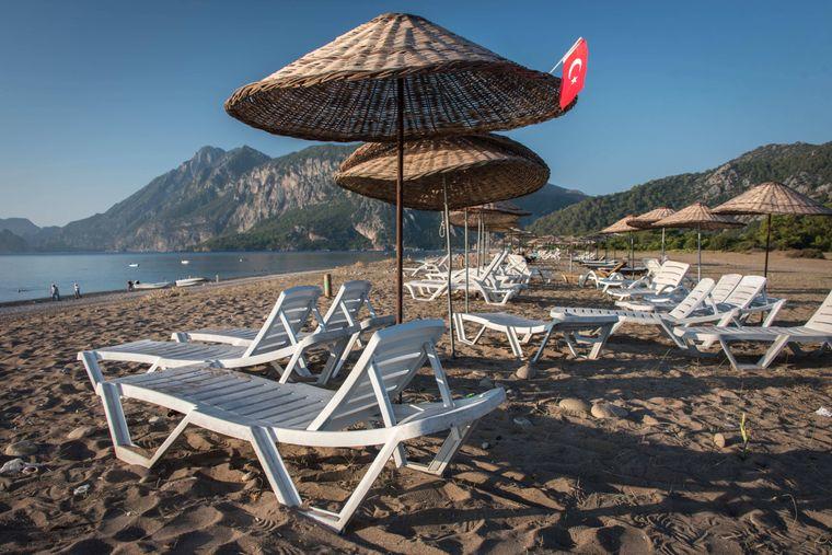 Cirali Beach, Türkei
