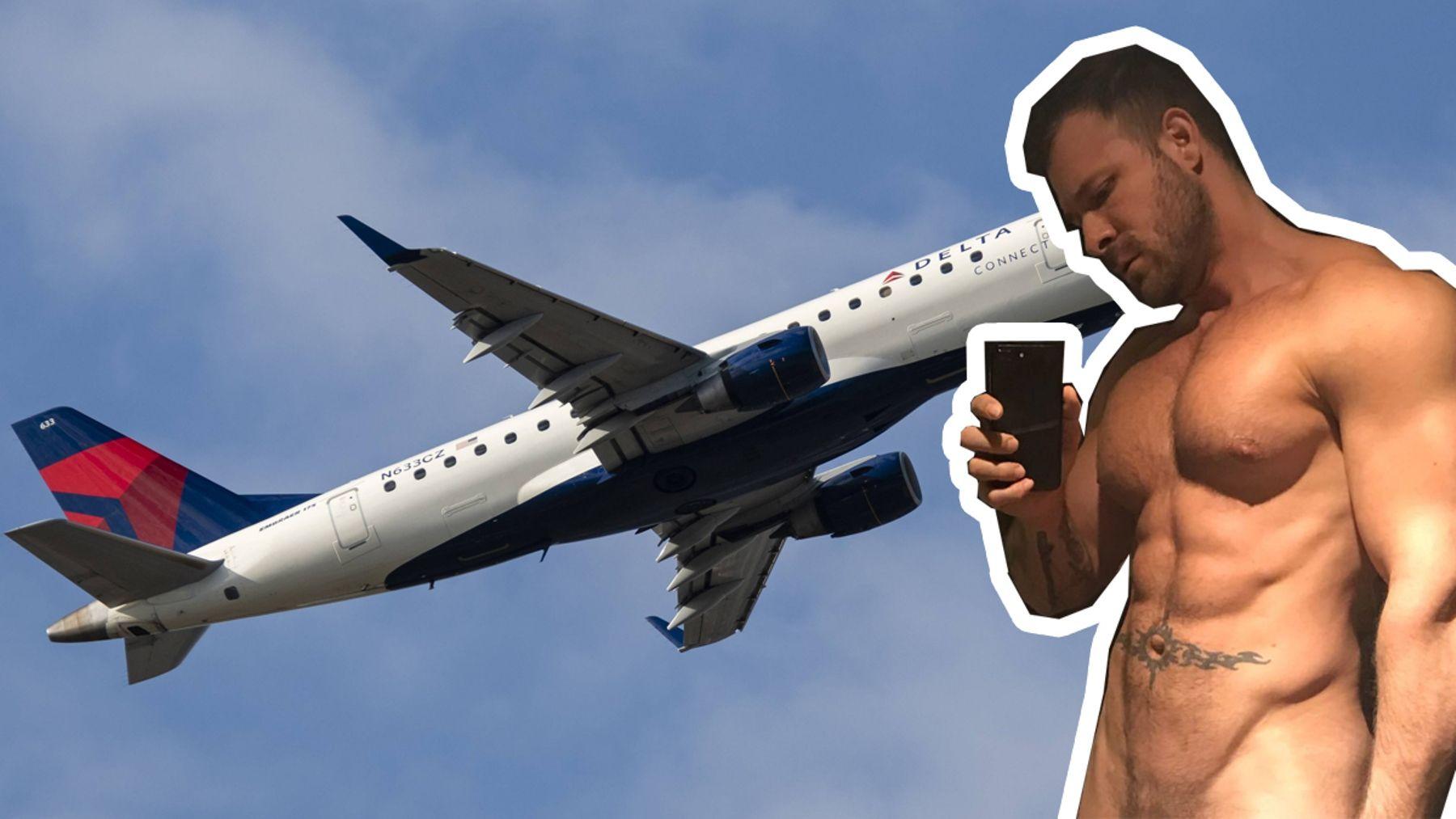 Flugzeug porno