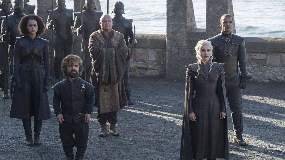 "Daenerys Targaryen und andere ""GoT""-Stars."