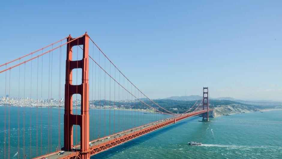Stell dir vor, du fährst nach San Francisco und guckst dir die Golden Gate Bridge nicht an! Geht nicht, genau. Und außerdem ist dieser Spaziergang drum herum so unendlich schön.