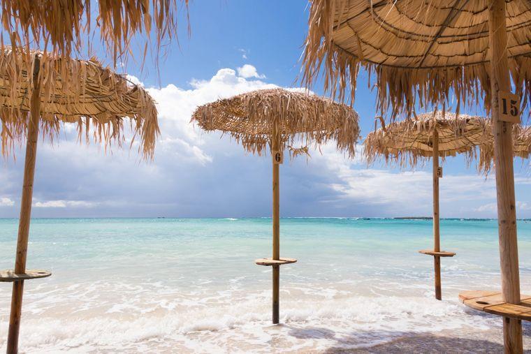 Der Elafonissi-Strand auf Kreta versetzt einen direkt in paradiesische Stimmung.