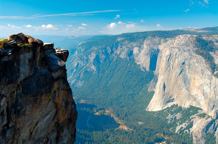 Der Taft Point im Yosemite-Nationalpark ist einer der gefährlichsten Fotospots der Welt.