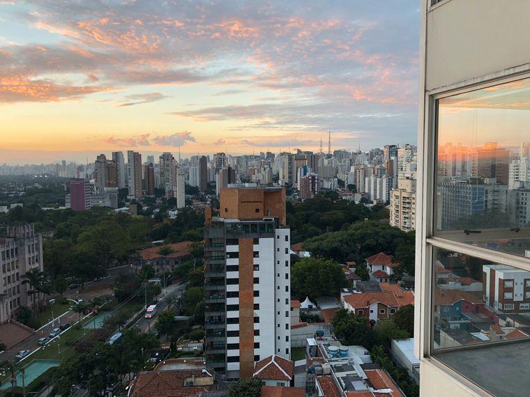 Egal wo du in São Paulo bist: Die Wolkenkratzer-Skyline ist allgegenwärtig.