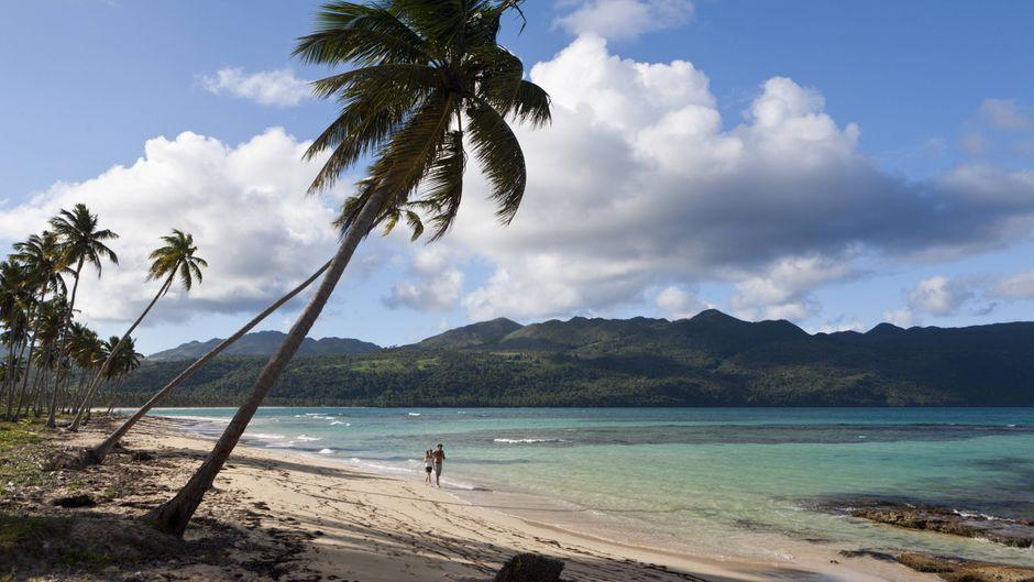 Strand Playa Rincon, Las Galeras, Dominikanische Republik