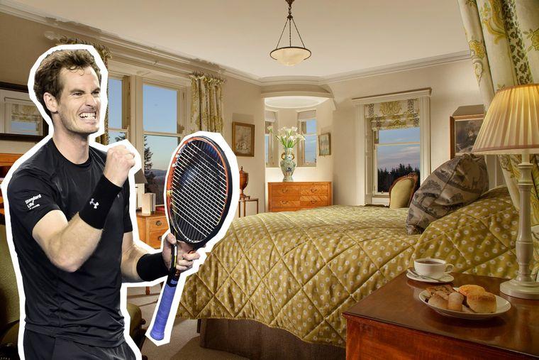 Andy Murray kaufte ein Herrenhaus nahe seiner Heimat und machte es zum Hotel, um den Tourismus in seiner Heimat zu stärken.
