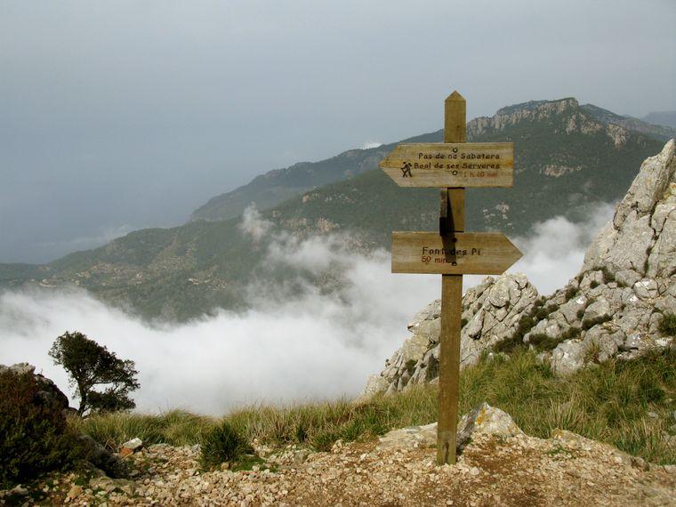Die Wanderung auf den Puig de Galatzó wird mit einem fantastischen Ausblick belohnt.