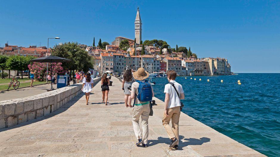 Die Region Istrien in Kroatien gehörte im Corona-Jahr 2020 zu den beliebtesten Destinationen.