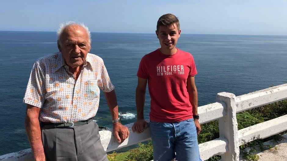 Der 93-Jährige wollte noch einmal das Meer sehen.