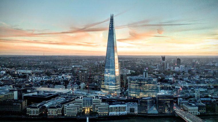 """Die höchste und gleichzeitig wohl teuerste Toilette Londons befindet sich im Wolkenkratzer """"The Shard""""."""
