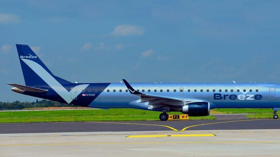 Flüge von Breeze Airways sollen ab 2021 fliegen.