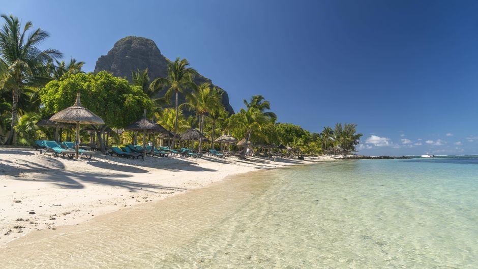 Die Insel Mauritius ist bekannt für ihre paradiesischen Strände.