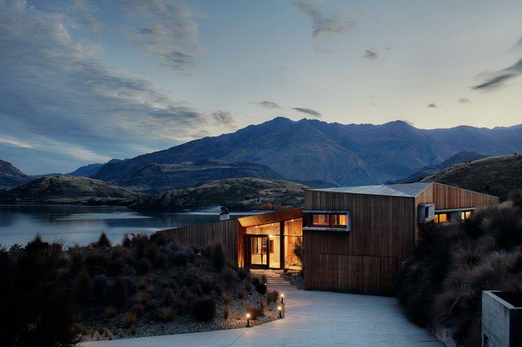 Der Lake Wanaka gehört zu den Highlights der Südinsel Neuseelands. Und genau dort befindet sich die Lodge.
