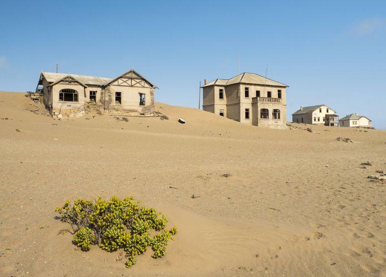 Kolmannskuppe in Namibia.
