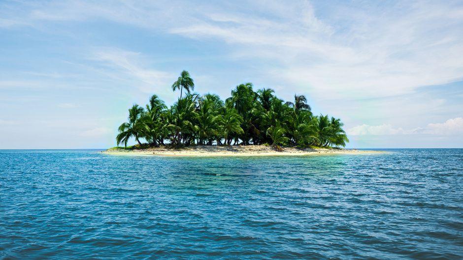 Eine Insel in der Karibik.