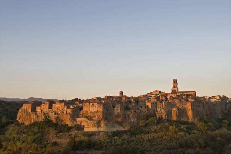 Italy, Tuscany, Pitigliano PUBLICATIONxINxGERxSUIxAUTxHUNxONLY FOF00524  Italy Tuscany Pitigliano PUBLICATIONxINxGERxSUIxAUTxHUNxONLY FOF00524 imago/Westend61