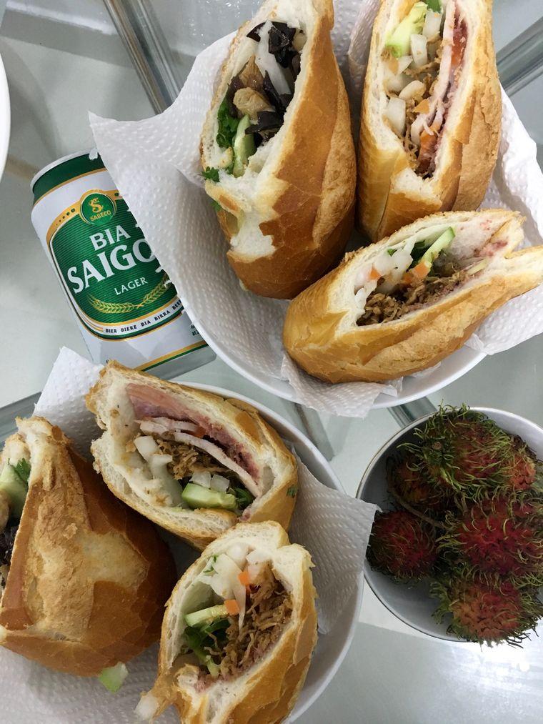 Bánh mì: Sandwich auf Vietnamesisch.